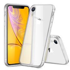 DD para iPhone XR Transparente Funda Cubierta Protectora Dura Piel de gel de silicona a prueba de golpes