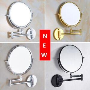 10'' Makeup Mirror Wall Mount Hotel Bathroom Space aluminum 1:3 Magnifyin Mirror
