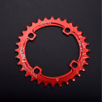 96 BCD Single Chainring For 9/10/11-Speed Narrow-wide 32T 34T 36T 38T Round Oval