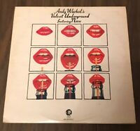 VELVET UNDERGROUND: Andy Warhol's...featuring Nico LP