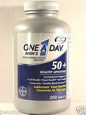ONE A DAY Men's 50+ Healthy Advantage 200 Tablets * Multivitamin/Multimineral *