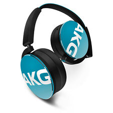 AKG Y50 Teal On-ear Headphones With Quality Sound Smart Styling Snug Fit
