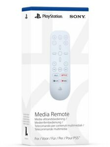 PlayStation 5 Media Remote Control (PS5) Brand New & Sealed - Free P&P