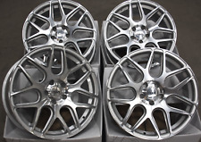 """ALLOY WHEELS 18"""" INCH CRUIZE CR1 SFP SILVER POLISHED CONCAVE VAN WHEELS 5X120"""