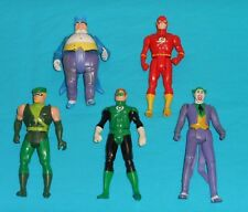 vtg Kenner SUPER POWERS LOT #19 Flash GREEN ARROW Green Lantern PENGUIN Joker