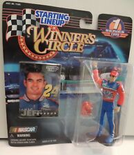 JEFF GORDON NASCAR RACING~1998 Winner's Circle Action Figure w/helmet & card
