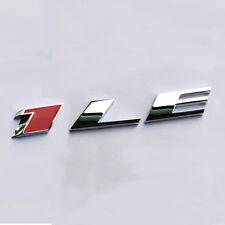 1x OEM 1LE Emblem Badge 3D Alloy for GM 2010-15 CAMARO 1LE Y Chrome Red