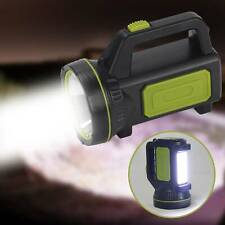 Waterproof Rechargeable Work Candle Power Light Torch Candle Spotlight Hand Lamp