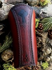 "ARCHERY ARM GUARD/BRACER ""CELTIC NORDIC CROSS "" MADE IN USA!"