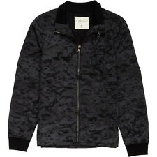 EZEKIEL Black WHAMO Grey CAMO Quilted POLYESTER JACKET Coat CAMOUFLAGE Mens sz M