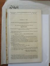 Govt Report 1858 Thomas C. Nye vs The United States #2464