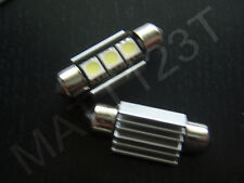 2 CANBUS SMD 36mm LED White interior roof light festoon number plate bulbs CW5