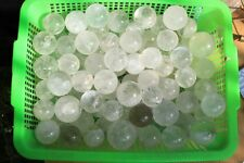 TOP!!! WHOLESALE PRICE 2.2lb NATURAL clear QUARTZ CRYSTAL SPHERE BALL HEALING