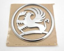 VAUXHALL ASTRA H REAR TAILGATE BADGE EMBLEM GENUINE NEW 04-10