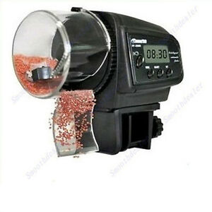 Adjustable LCD Automatic Aquarium Timer Auto Fish Tank Pond Food Feeder  Feeding