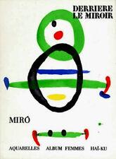MIRO LITHOGRAPHS 1967 Joan Miró litógrafo JOAN MIRO litografías $ VERY RARE ART