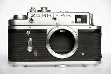 Zorki-4K body USSR rangefinder film camera 35 mm M39 mount export version KMZ