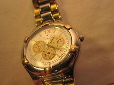Vintage *Working* DENACCI QUARTZ Electric ANALOG Men's Wristwatch [h12a6]