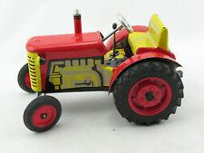 Blechspielzeug - Traktor Zetor rot von KOVAP 0380r
