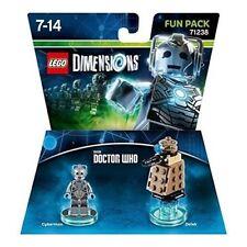 LEGO Dimensions Fun Pack: Doctor Who Cyberman Dalek 71238 BRAND NEW