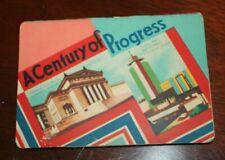 vtg sewing Needle case A Century Of Progress World's fair Chicago 1933 1934 Nos