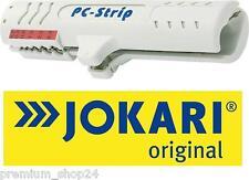 JOKARI Abisolierer Kabelentmantler PC STRIP für Netzwerk CAT 5 7 Kabel Litzen