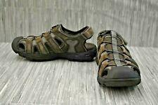 Skechers Garver Selmo 64641 Fisherman Sandals, Men's Size 10M, Brown