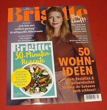 """Brigitte Nr. 5 2018 """"50 Wohnideen"""" + Sonderheft 30-Min. Rezepte  ungelesen"""