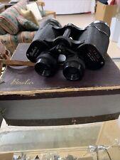 Vintage Binolux Binoculars With Case 7x50 Binoculars With Case and Compass