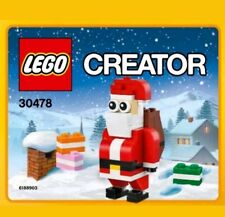 LEGO 30478 CREATOR Christmas Polybag Santa Claus Father Christmas (Rare)