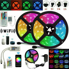 5M/10M/20M LED Strip Light 5050 2835 SMD RGB Waterproof WIFI IR Controller DC12V
