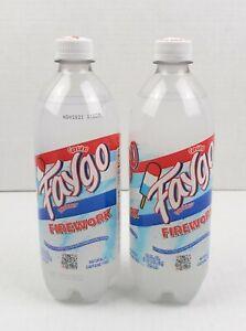 2 Faygo FIREWORK BOMB POP Big 24 OZ Soda Pop LIMITED EDITION.