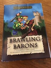 Sealed (new) Brawling Barons Card Game