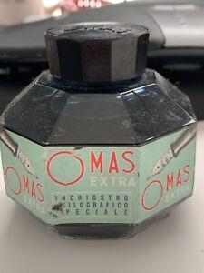 Omas Blue Black 4.5oz Fountain Pen Ink