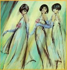 Diana Ross & the Supremes # 10 - 8 x 10 Tee Shirt Iron On Transfer