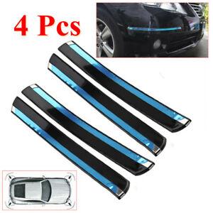 4Pcs/Set Car Bumper PVC Crash Anti-rub Strip Rubbing Strip Protections Sticker