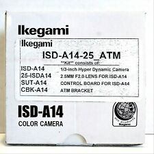 Ikegami ISD-A14 1/3 Inch Hyper Dynamic Camera Kit w/ Bracket & Control Board