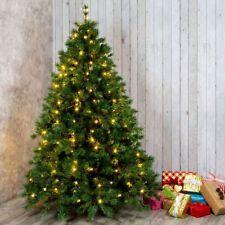 Mantello Rete Minilucciole Per Albero Di Natale 320 Luci Led Bianco Caldo dfh