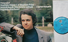 LISZT Mephisto Walzer Polka Benediction Bagatelle Katsaris LP TELEFUNKEN NM