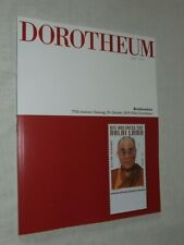 Dorotheum Stamp Auction Catalogue- October 2019