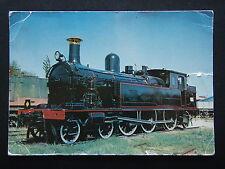 SOUTH AUSTRALIAN RAILWAYS LOCOMOTIVE No. 255 F CLASS AT MILE END MUSEUM POSTCARD