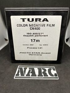 Tura 400 iso  35MM color negative film, 17meters  Sealed