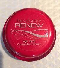 REVENTIN RENEW Age Spot Correction Cream 1oz NEW