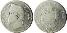 NAPOLEON  III  ,  2  FRANCS  ARGENT  ,  1869  BB  STRASBOURG  ,  RARE