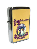 The Jimi Hendrix Experience Are You Experienced Flip Top Oil Lighter Windproof
