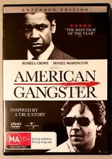 American Gangster (Denzel Washington) DVD in GREAT condition (Region 2/4/5)
