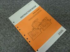 1996 Volvo Penta TID61AG TD610M TD610G TD71A TD71ACE Diesel Engine Owner Manual