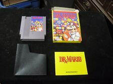 Original Nintendo NES DR. MARIO Video Game w Box Manual & Case CIB