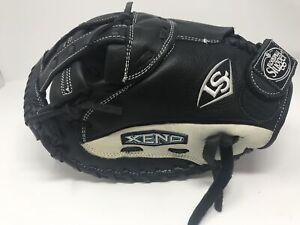 "New Other Louisville Slugger Xeno LHT 34"" FP Softball Catcher's Mitt Blk/Wht"
