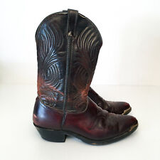 Mens Western Laredo Cowboy boots - Mens US size - 9.5 EE  Made in the USA